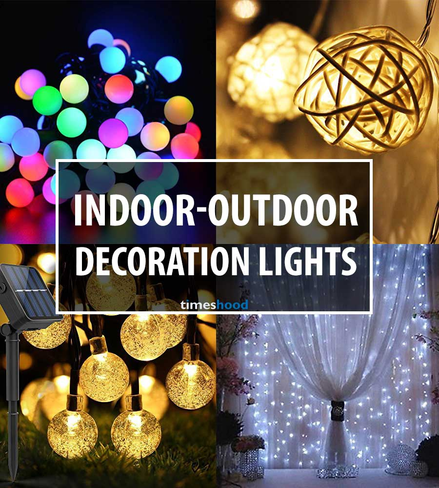 check out the list of best indoor outdoor decoration lights you can buy on amazon