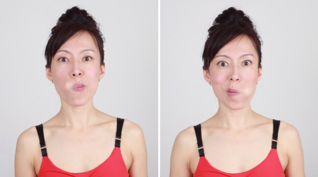 Do you have laughing lines that makes you look older. try these 7 face yoga exercise for laughing lines and wrinkles free face. Facial exercise for beautiful skin.