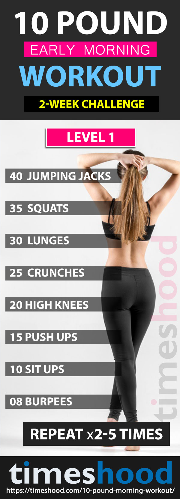 Lose Upto 10-Pound With This Early Morning Workout - Timeshood