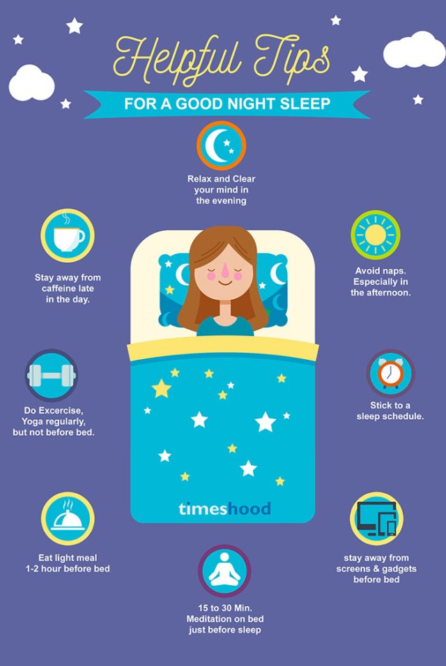 How to get good sleep? Helpful tips to get a good night sleep. Natural ways to treat insomnia. Natural sleep remedies. 7 best Ayurveda formula to get good sleep at night from Timeshood.com