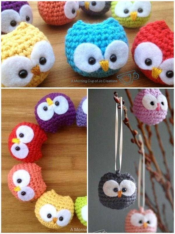Amigurumi Crochet Owl Free Patterns Instructions | 800x600