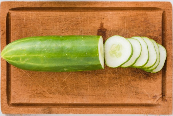 Cucumber - one of the hydrating and cooling food to eat in summer. Best refreshing food to prevent from hot weather. Best cooling foods for summer.