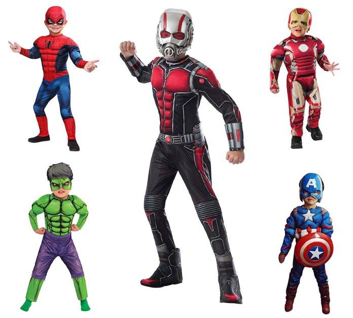 10 Avengers Kids Costume Ideas for Halloween. Creative Avengers costume ideas for Kids.