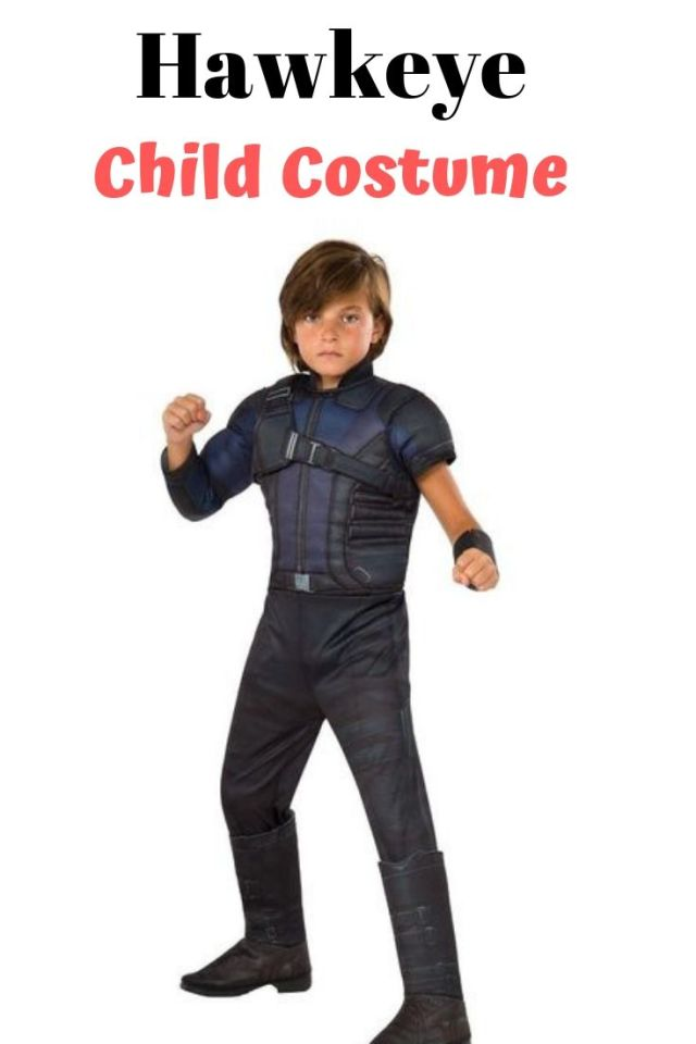 Hawkeye deluxe muscle chest child costume. The Avengers Age of Ultron Boys' Hawkeye Costume is a perfect gift for your little Avengers fan. Get 10 more Avengers kids costume ideas for Halloween.