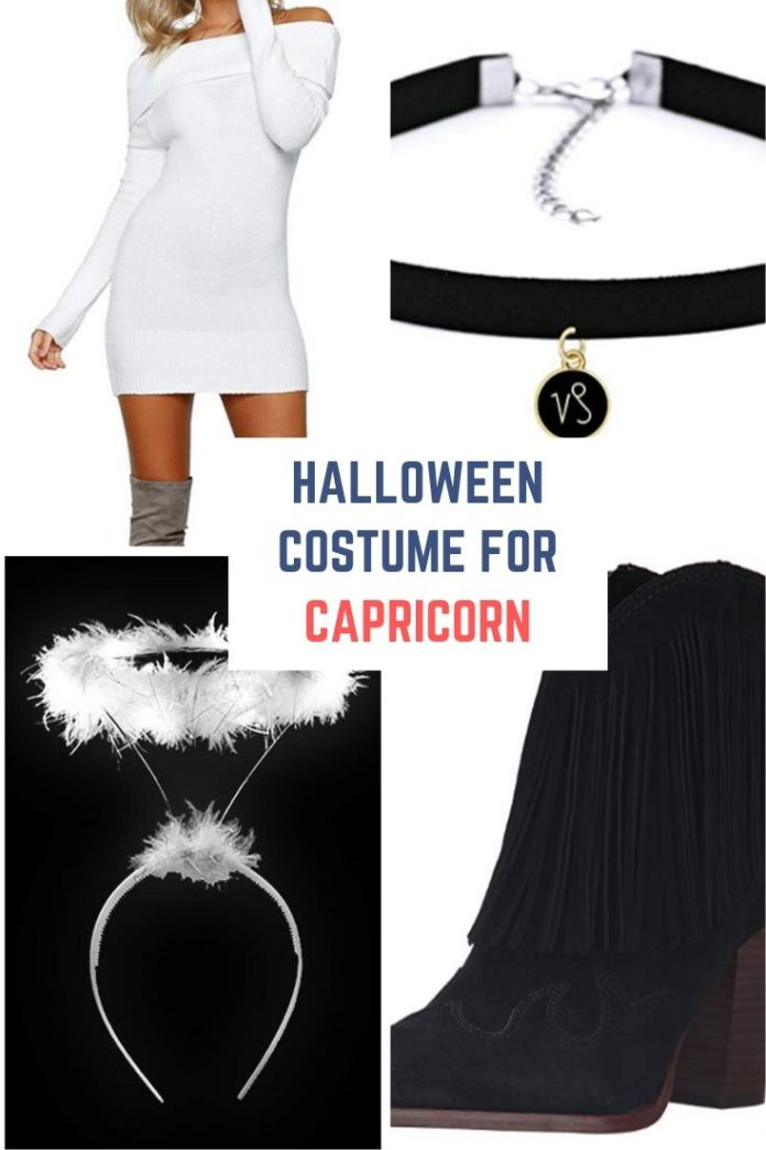 Hey Capricorn!! Looking for Halloween costume for your zodiac sign. Try this super cute and simple costume ideas with goat accessories for Halloween night party. Find 12 more Halloween costume ideas for your zodiac sign.