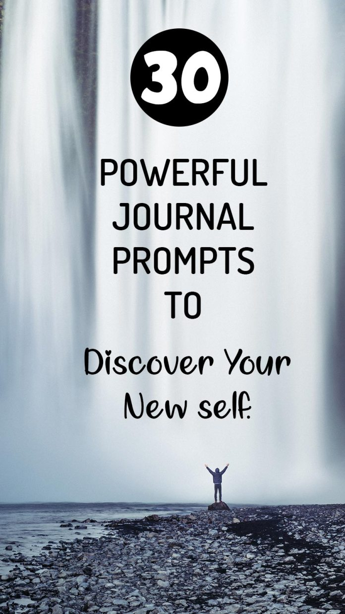 Discover your new self with these powerful journal prompts. These 30 journal prompts for self-discovery will take you to the new path and help you figure out your best versions and new self-worth