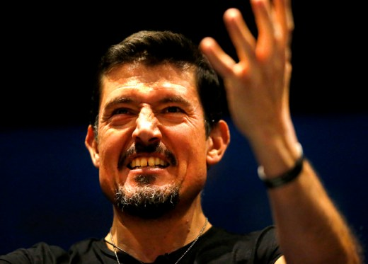 "Kris ""Tanto"" Paronto, co-author of 13 Hours: The Secret Soldiers of Benghazi, speaks in front of over 800 people at the Mohegan Sun Pocono, to tell the story of the Benghazi attacks."