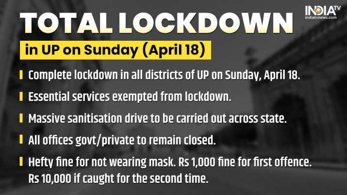 Asia television - UP Lockdown, Uttar Pradesh Lockdown