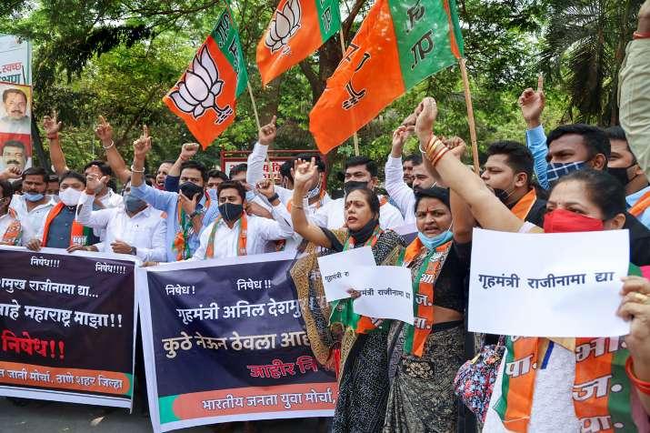 Anil deshmukh resignation, sharad pawar conference, maharashtra top advancements