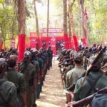 Maoist cadres in Training camp