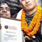 Assamese boy runs to glory of Guinness Book Abhijit Baruah