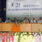Twenty First ICAR Regional Committee Meet in Assam Agricultural University