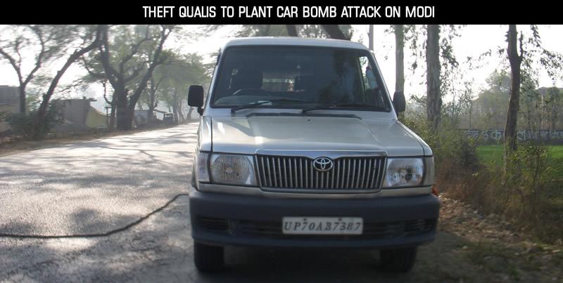 Car Bomb attack on Modi