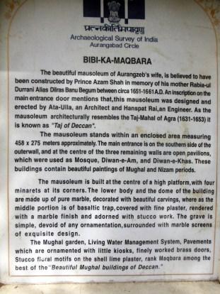 india_aurangabad_bibi_ka_maqbara_sign
