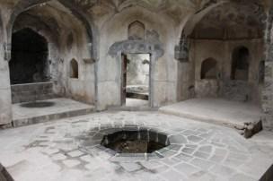 hall central dans la zone de bain