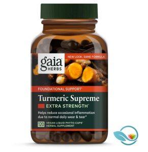 Gaia Herbs Turmeric Supreme Extra Strength