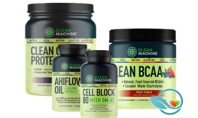 Clean Machine: Plant-Based Fitness Nutrition Products Clean BCAA and Lentein Protein