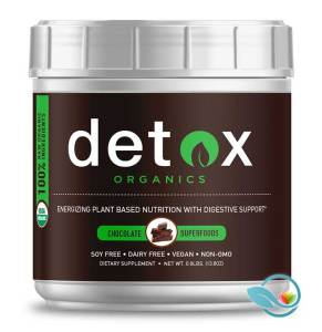 Detox Organics Chocolate Superfoods
