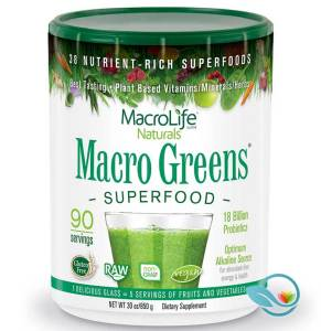 MacroLife Naturals' Macro Greens Superfood