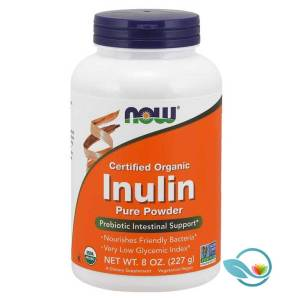 NOW Supplements Organic Inulin Pure Powder