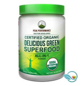 Peak Performance Delicious Green Superfood