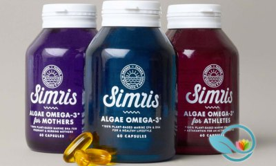 Simris: Plant-Based Marine Omega-3 Algae for Athletes with EPA & DHA