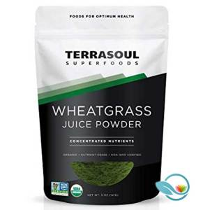 Terrasoul Wheatgrass Juice Powder