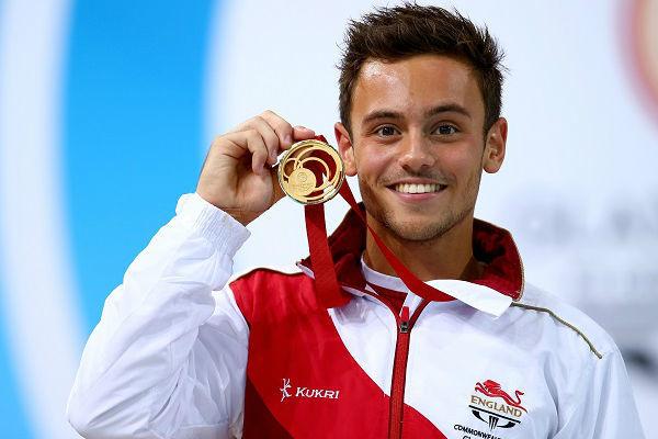 Tom Daley England Olympics 2010