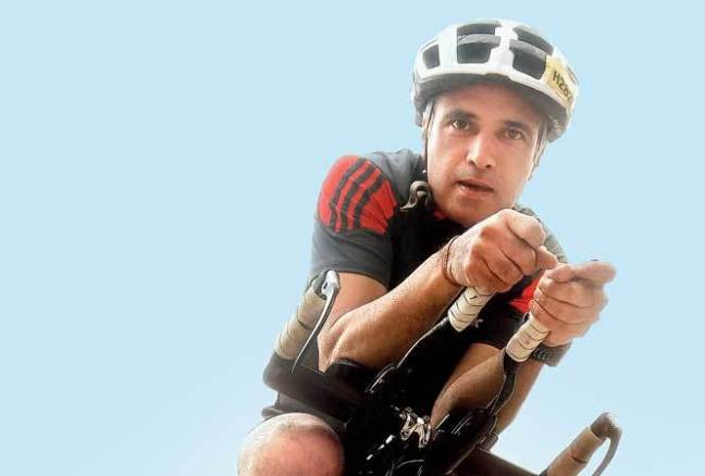 yashish dahiya cycling, runner and CEO