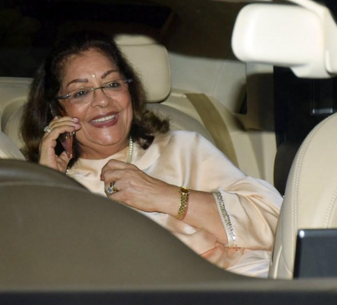 Jaya Bachchan's 70th birthday bash