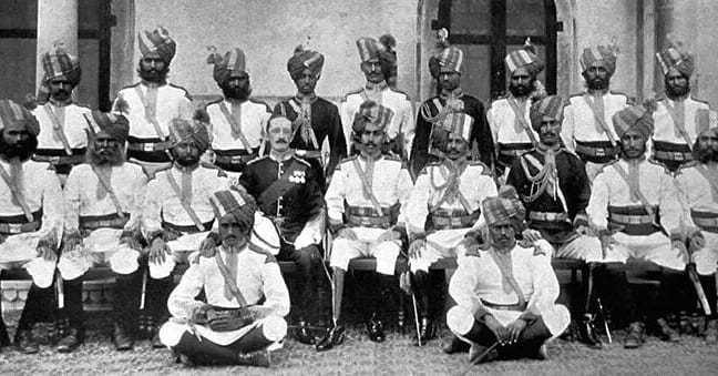 India News Maharaja of Bikaner Maharaja Lal Singh raised the Bikaner Camel Corps, which was also known as Ganga Risala