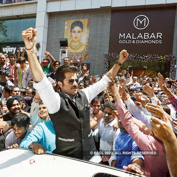 Anil Kapoor at Malabar store launch