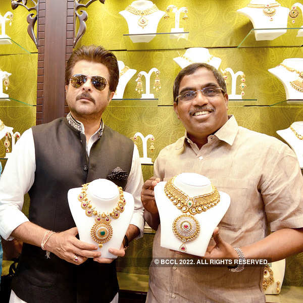 Anil Kapoor at Malabar store launch