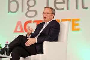 Google executive chairman Eric Schmidt