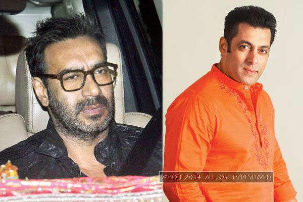 Ajay Devgn Spotted Socialising At Salman Khans Farmhouse