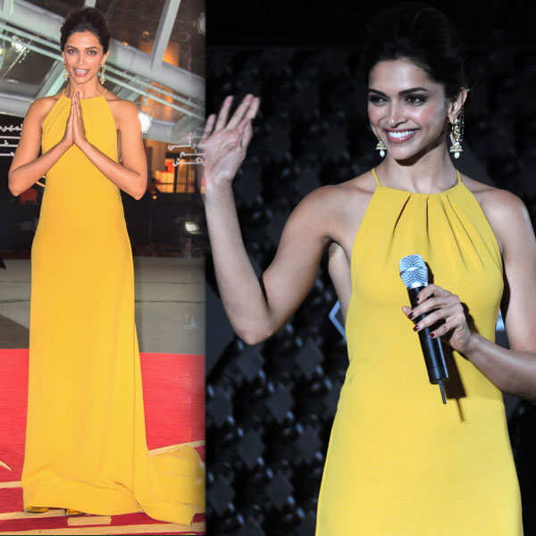 Deepika Padukone at Marrakech International Film Festival