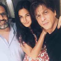 Katrina joins SRK on sets of Aanand's next