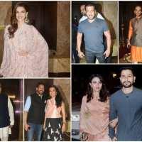 B-Town celebs at Ramesh Taurani's Diwali bash