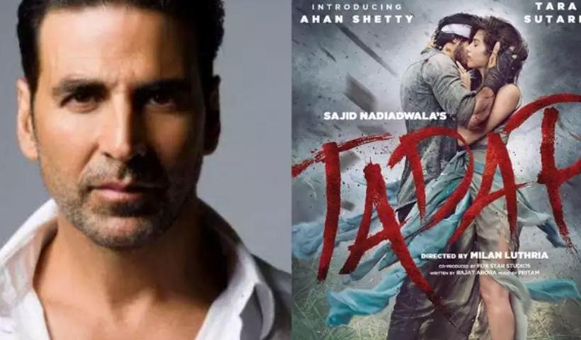 Akshay Kumar gets trolled for sharing Suniel Shetty's son Ahan Shetty's debut film 'Tadap' poster   Hindi Movie News – Bollywood – Times of India