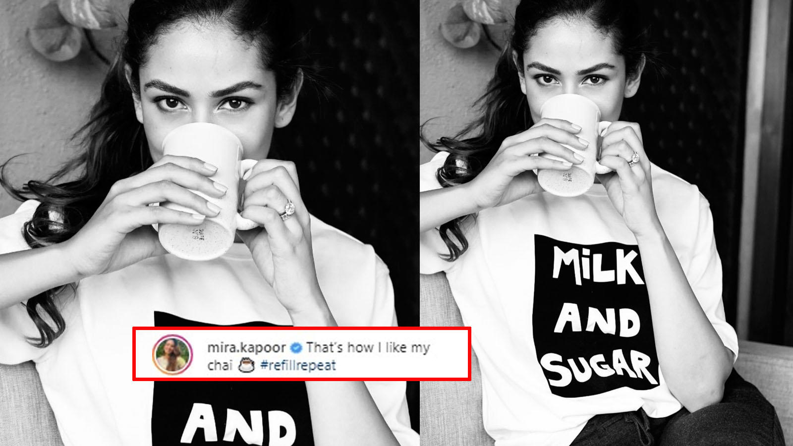 Shahid Kapoor's wife Mira Rajput is a 'chai lover' and her latest Insta post is proof | Hindi Movie News – Bollywood – Times of India