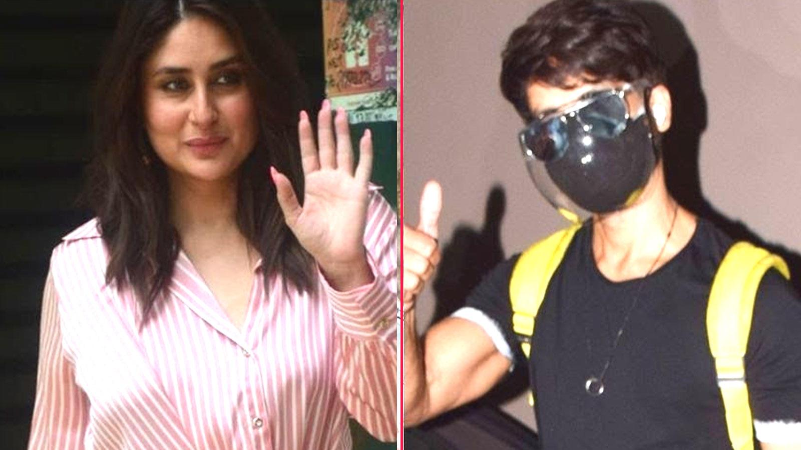 From Kareena Kapoor to Shahid Kapoor, Bollywood celebs spotted in Mumbai | Hindi Movie News – Bollywood – Times of India