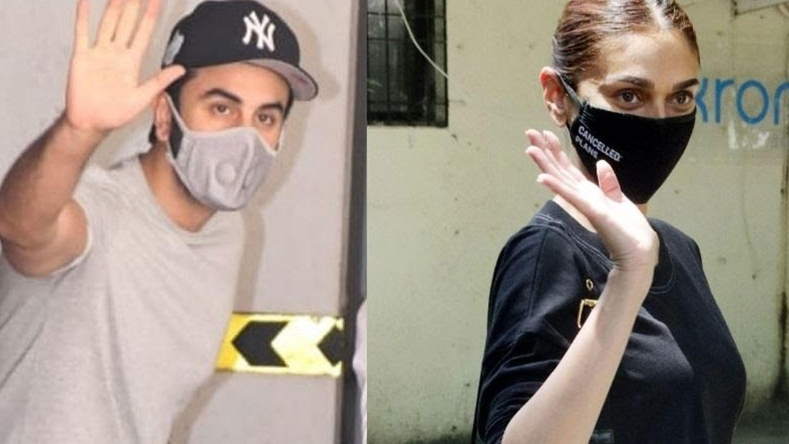From Ranbir Kapoor to Aditi Rao Hydari, Bollywood celebs spotted in Mumbai   Hindi Movie News – Bollywood – Times of India