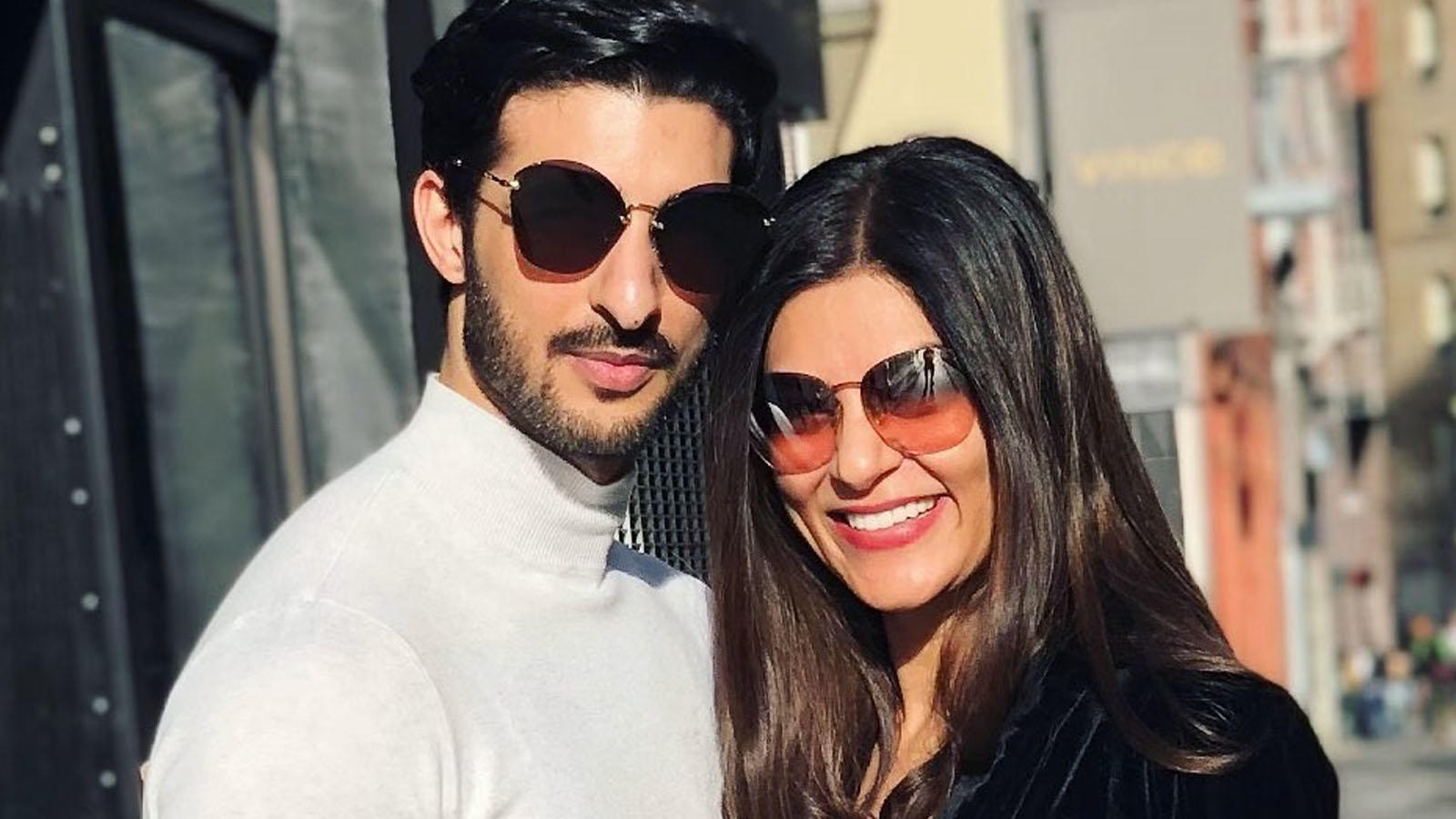 Sushmita Sen and Rohman Shawl's social media PDA crushes break-up rumours | Hindi Movie News – Bollywood – Times of India