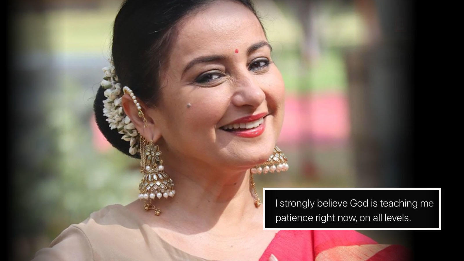 Divya Dutta shares a cryptic post on social media: 'God is teaching me patience right now' | Hindi Movie News – Bollywood – Times of India