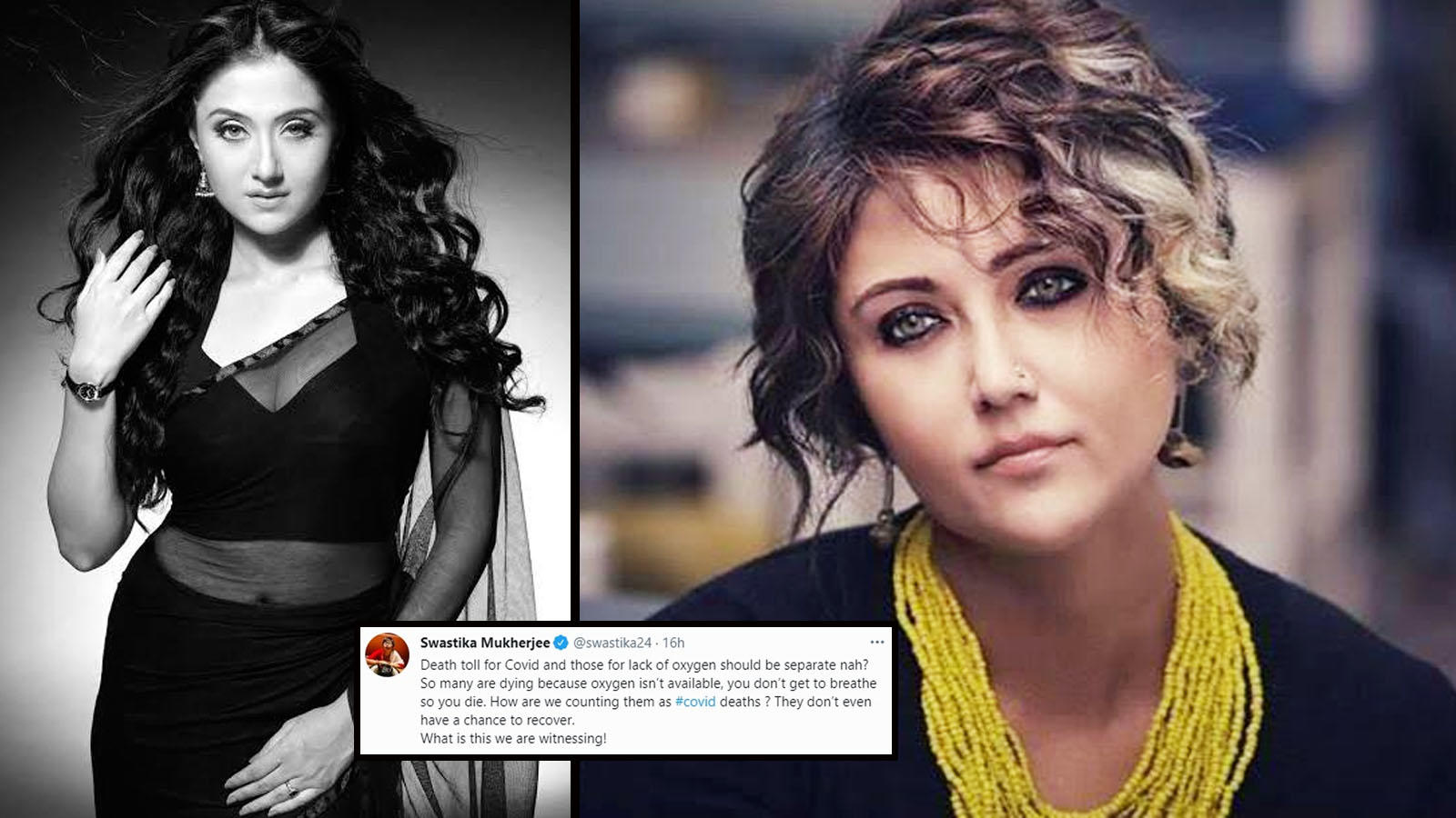 Swastika Mukherjee: COVID-19 deaths and those due to lack of oxygen should be counted separately   Hindi Movie News – Bollywood – Times of India