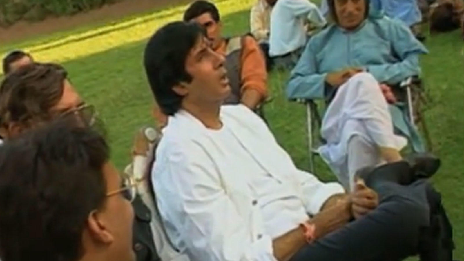 Flashback video! Making of Amitabh Bachchan, Amrish Puri and Shilpa Shetty starrer 'Laal Baadshah'   Hindi Movie News – Bollywood – Times of India