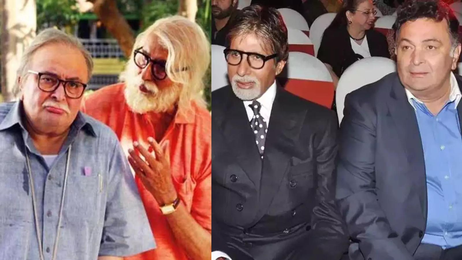 When Rishi Kapoor said 'Amitabh Bachchan never gave due credit to his co-actors' | Hindi Movie News – Bollywood – Times of India