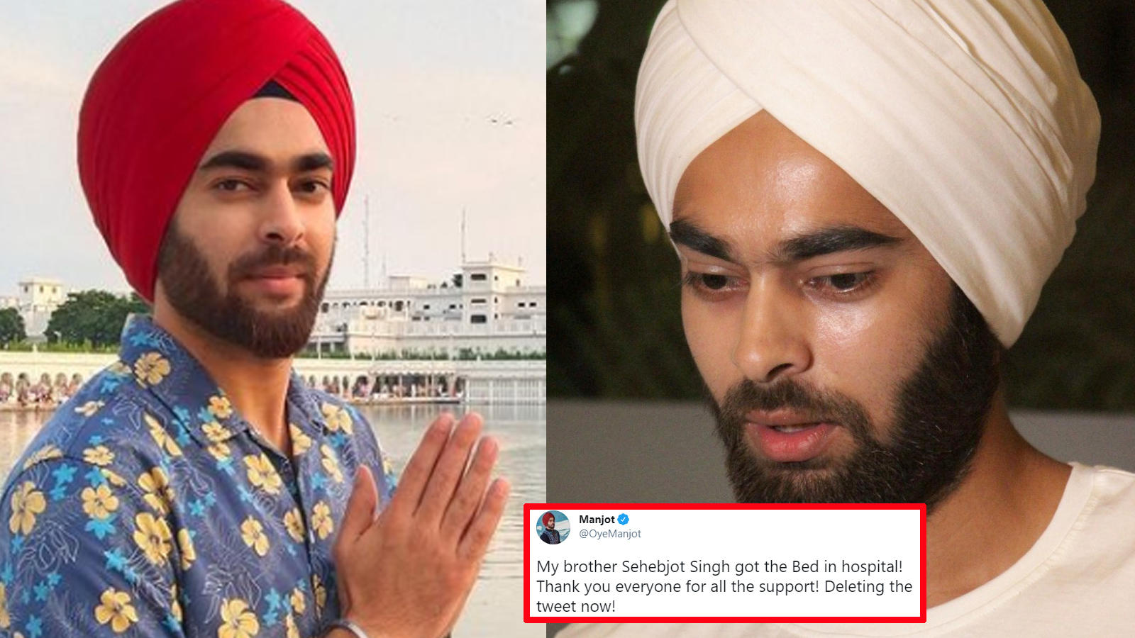 'Fukrey' actor Manjot Singh gets help from good samaritans on Twitter, finds an ICU bed for brother just in time | Hindi Movie News – Bollywood – Times of India
