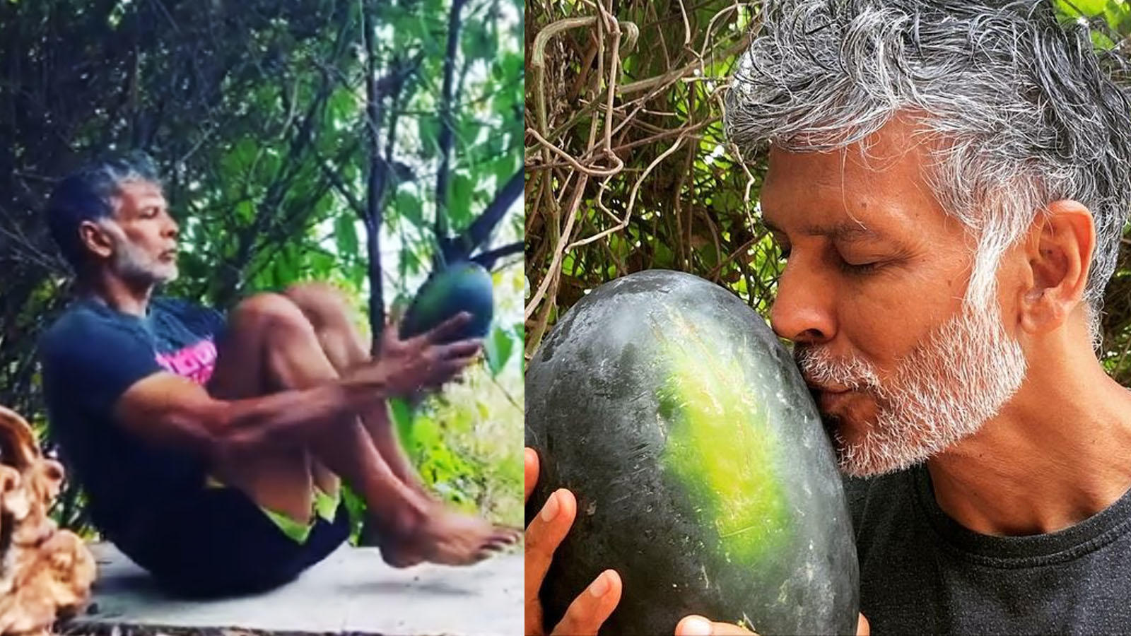Watch: Milind Soman posts a workout video, urges people 'to stay away from things that give stress' | Hindi Movie News – Bollywood – Times of India