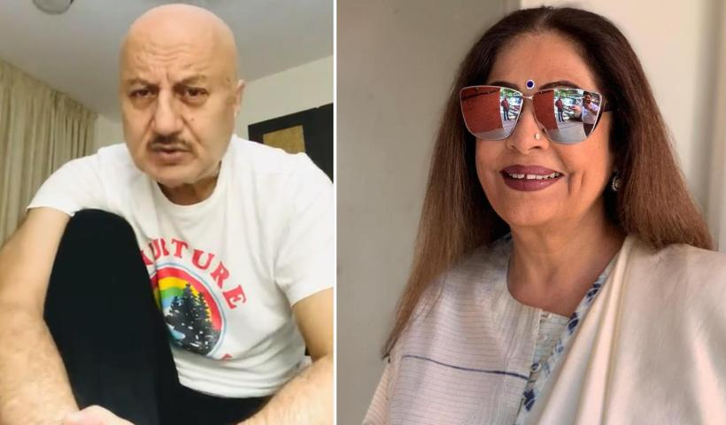 Anupam Kher shares wife Kirron Kher's health update: 'She is on her way to better health. It's a tough treatment' | Hindi Movie News – Bollywood – Times of India